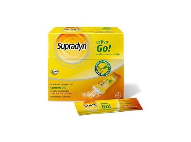 SUPRADYN ACTIVO GO SUPERDESAYUNO 20 SOBRES