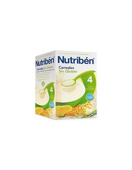NUTRIBEN PAPILLA SIN GLUTEN 600 G