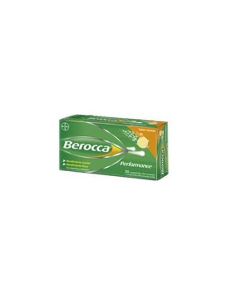 BEROCCA PERFOMANCE NARANJA 30COMP EFERVESCENTES