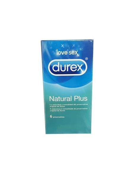 PROFIL DUREX NATURAL PLUS 6 UDS