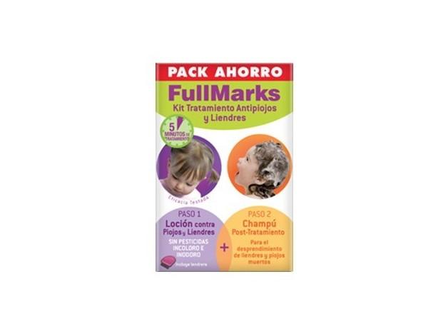 FULLMARKS KIT CHAMPU+LOCION ANTIPIOJOS