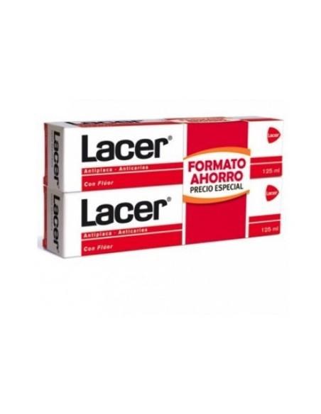 LACER FLUOR PASTA DUPLO 2X125ML