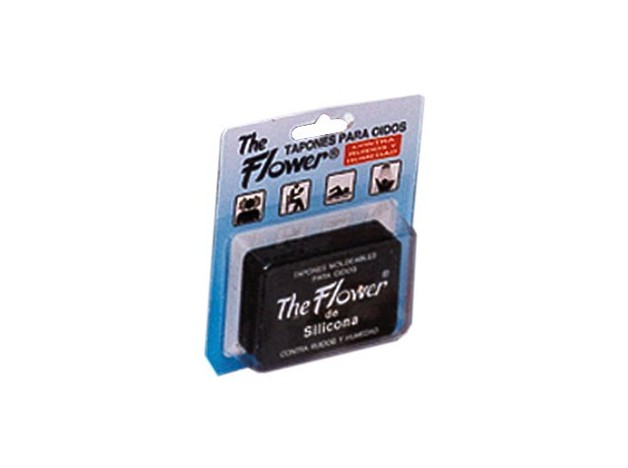 TAPONES FLOWER OIDOS SILICONA 6 UDS