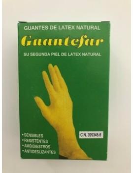 GUANTEFAR LATEX 6-7 10 UN