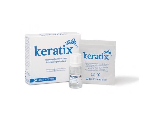 KERATIX SOLUCION+36 PARCHES