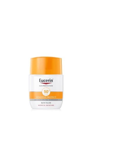 EUCERIN SOLAR CARA FLUIDO SPF 50+ 50ML