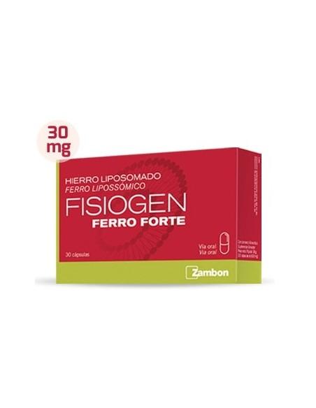 FISIOGEN FERRO FTE 30 CAPS