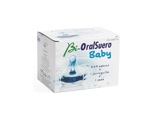 BIORALSUERO BABY 4+4 SOBRES