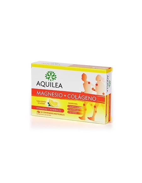 AQUILEA MAGNESIO + COLÁGENO 30 CDOS MAST