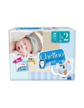 Pañal Infantil Chelino T- 2 (3 -6Kg)
