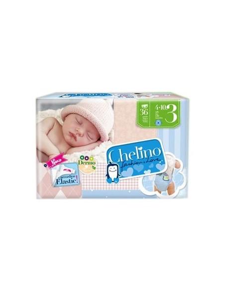 Pañal Infantil Chelino Fashion & Love T- 3 (4 - 10 kg)