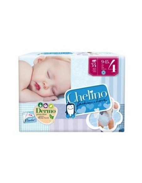 Pañal Infantil Chelino Love T 4 (9 - 15kg) 34 Ud
