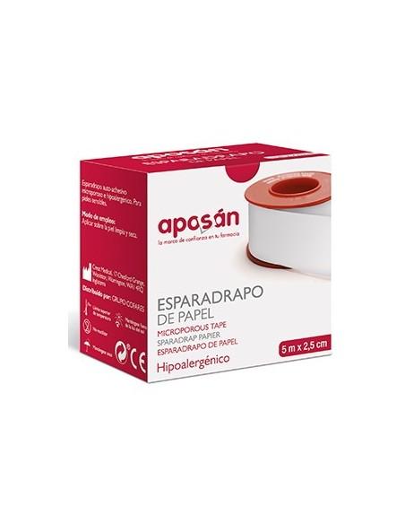 Esparadrapo Aposan Papel 5 X 2'5 Hipoalergico