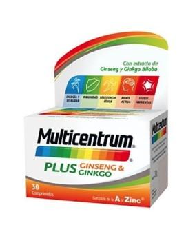 Multicentrum Plus Ginseng Gingko 30 Comp