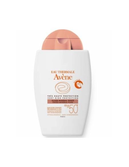 Avene Solar Cara Mineral Color Spf 50+ 40Ml