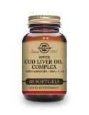 Solgar Super Cod Liver Oil Complex 60 Perlas