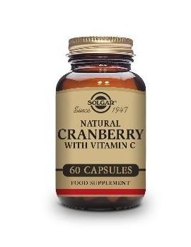 Solgar Cranberry con Vitamina C 60 Capsulas