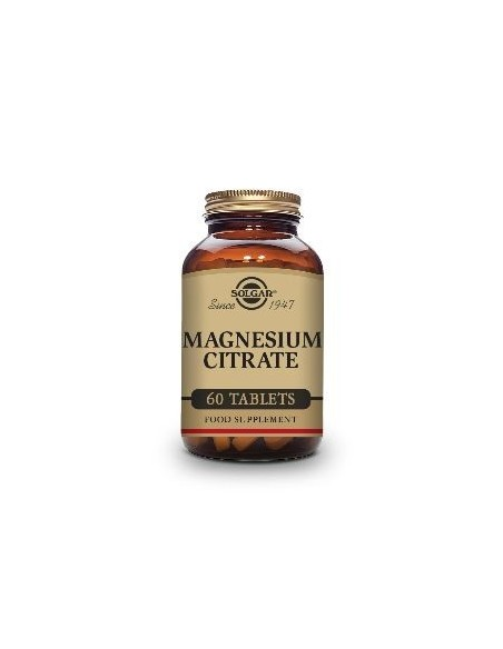 Solgar Magnesium Citrate 60 Tabletas