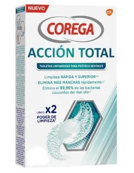 Corega Accion Total Limpiador 50+16 Pastillas