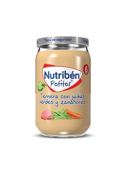 Nutriben Ternera Con Judias Verdes y Zanahorias