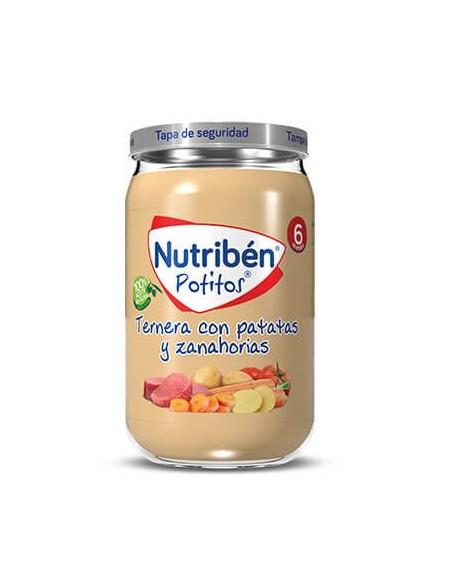 Nutriben Ternera Con Patatas y Zanahorias Potito