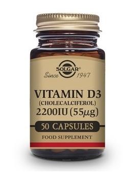 Solgar Vitamina D3 2200IU 50 Caps