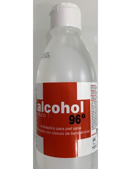 Alcohol 96º 250 Ml Monplet