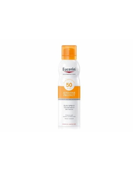 Eucerin Solar Cuerpo Toque Seco 200 ml Spf50+