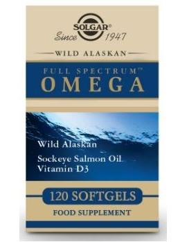 Solgar Full Spectrum Omega 120 Capsulas
