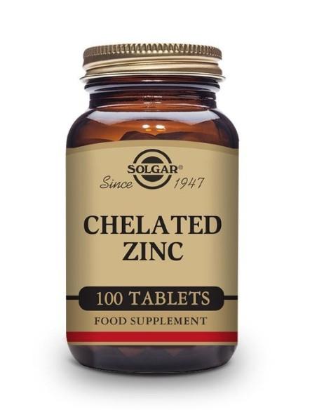 Solgar Zinc Quelado 100 Comprimidos