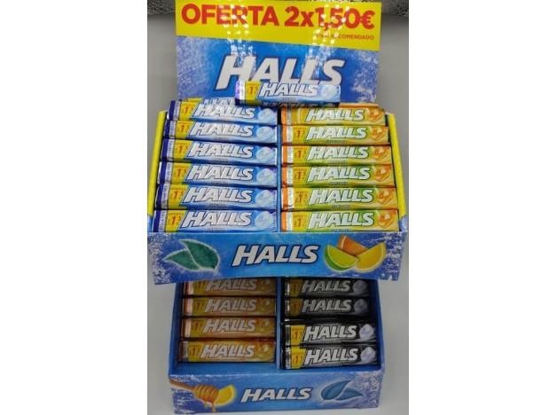 CARAMELOS HALLS 2X1,5€