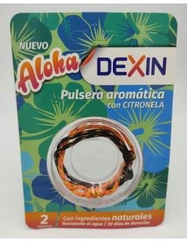 Pulsera Aromatica Aloha Con Citronela