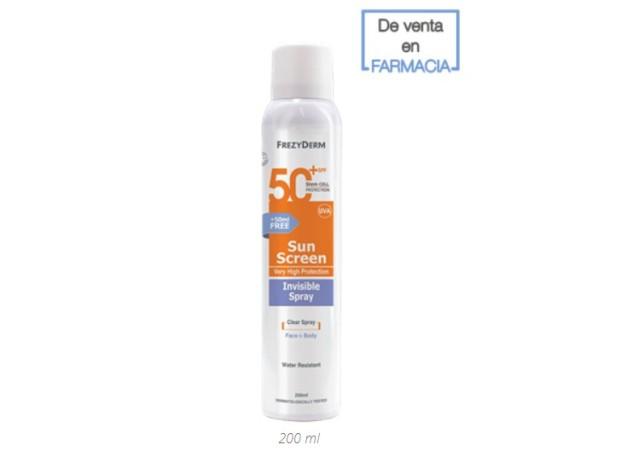 SUN SCREEN SPRAY INVISIBLE SPF50+ 200ML