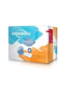 SABANINDAS PROTEGECAMAS 60X75 20 UDS