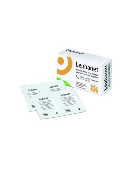 LEPHANET TOALLITAS LIMPIEZA PARPADOS 30+12 UDS