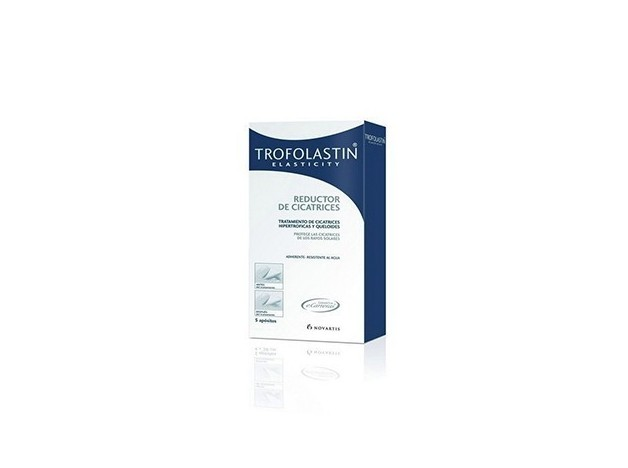 TROFOLASTIN REDUCTOR CICATRICES 5X7,5 5UDS
