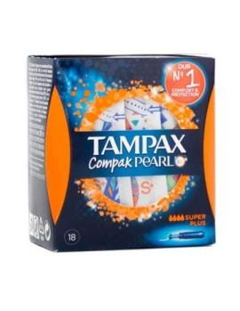 TAMPAX COMPAK PEARL SUPER 18 UDS
